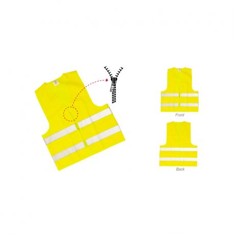 Safety Vest With Reflection Strips SV789